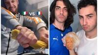 Kesal Lihat Spaghetti Dipatahkan, Bule Italia Balas Dendam Bekukan Croissant