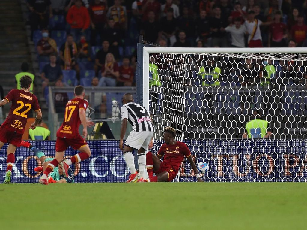 Roma Vs Udinese: Tammy Abraham Menangkan Giallorossi 1-0