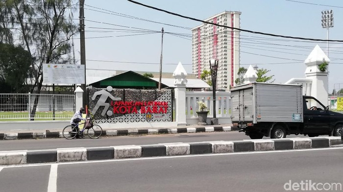 Stadion Kottabarat yang akan menjadi salah satu venue latihan tim grup C Liga 2.