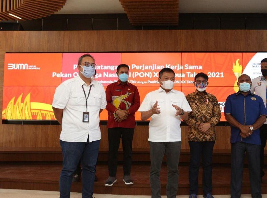 Telkom Sediakan Internet Lebih dari 11,5 Gbps di PON XX Papua