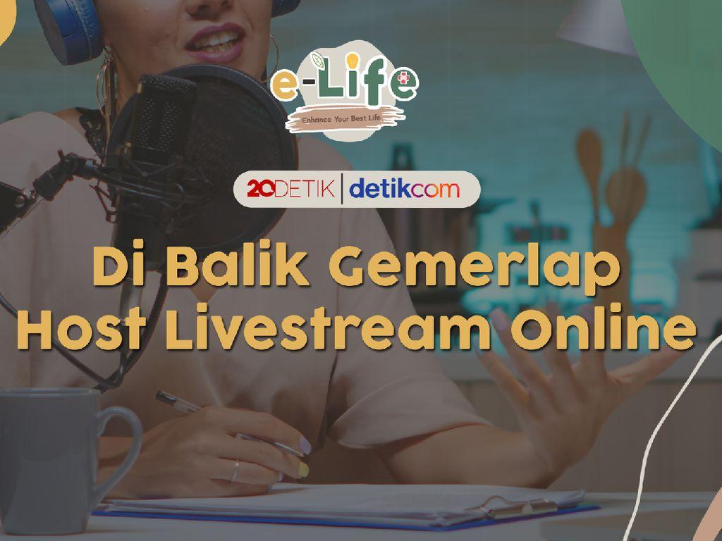 Live! e-Life: Godaan Host Livestream Online