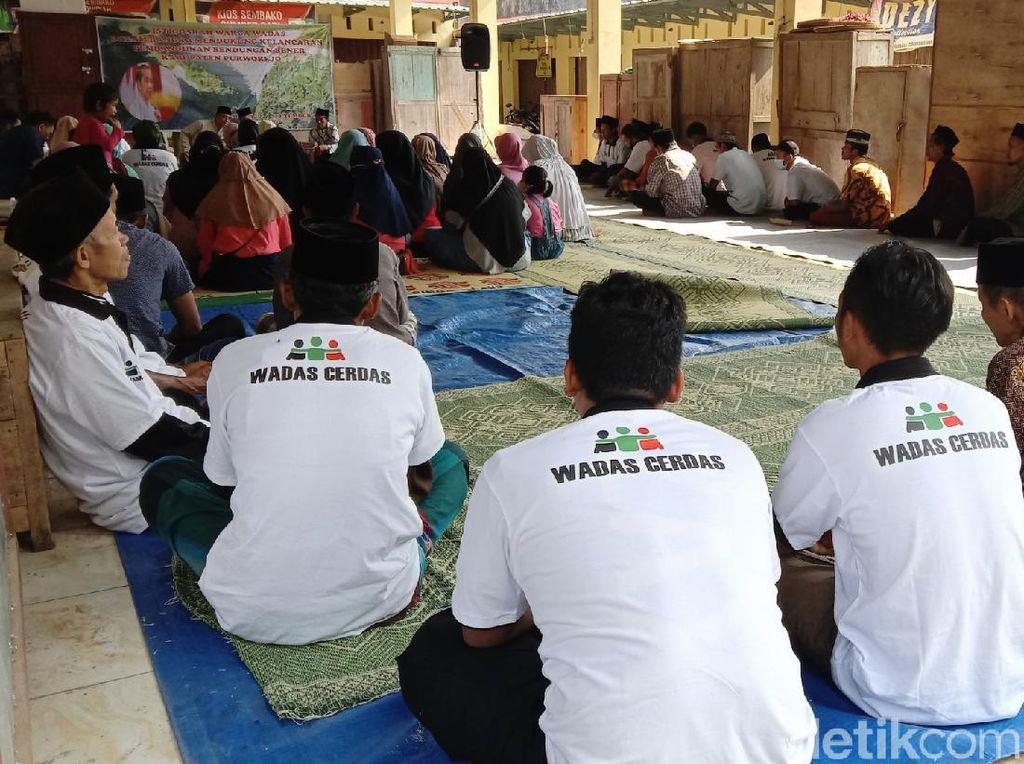 Pro Kontra Warga Desa Wadas soal Kedatangan Polisi Bersenjata Lengkap