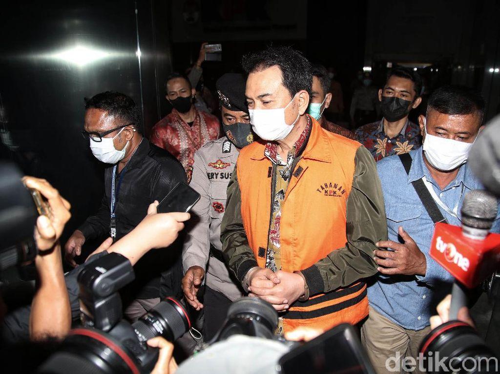 Azis Syamsuddin Bungkam Setelah Ditahan KPK