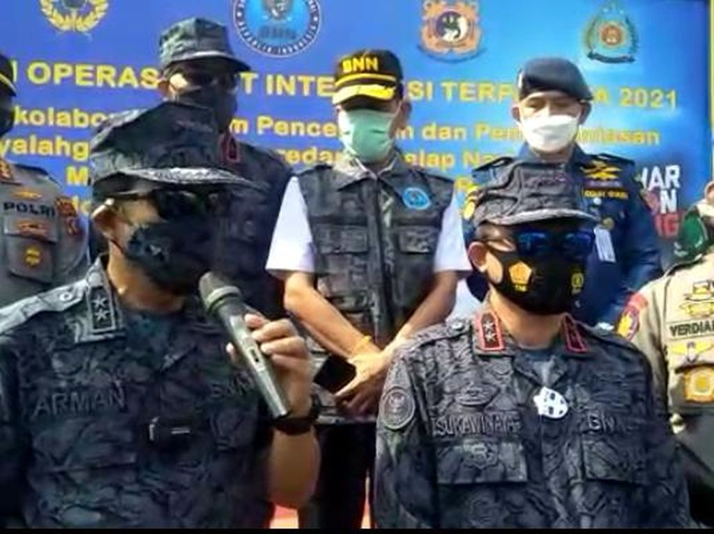 BNN Gagalkan Penyelundupan 122 Kg Sabu dalam 12 Hari Operasi di Laut