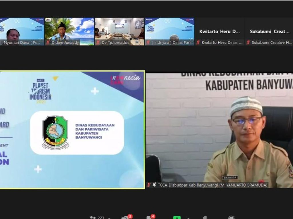 Disbudpar Banyuwangi Sabet Penghargaan Spesial Mention Award dari MarkPlus Inc