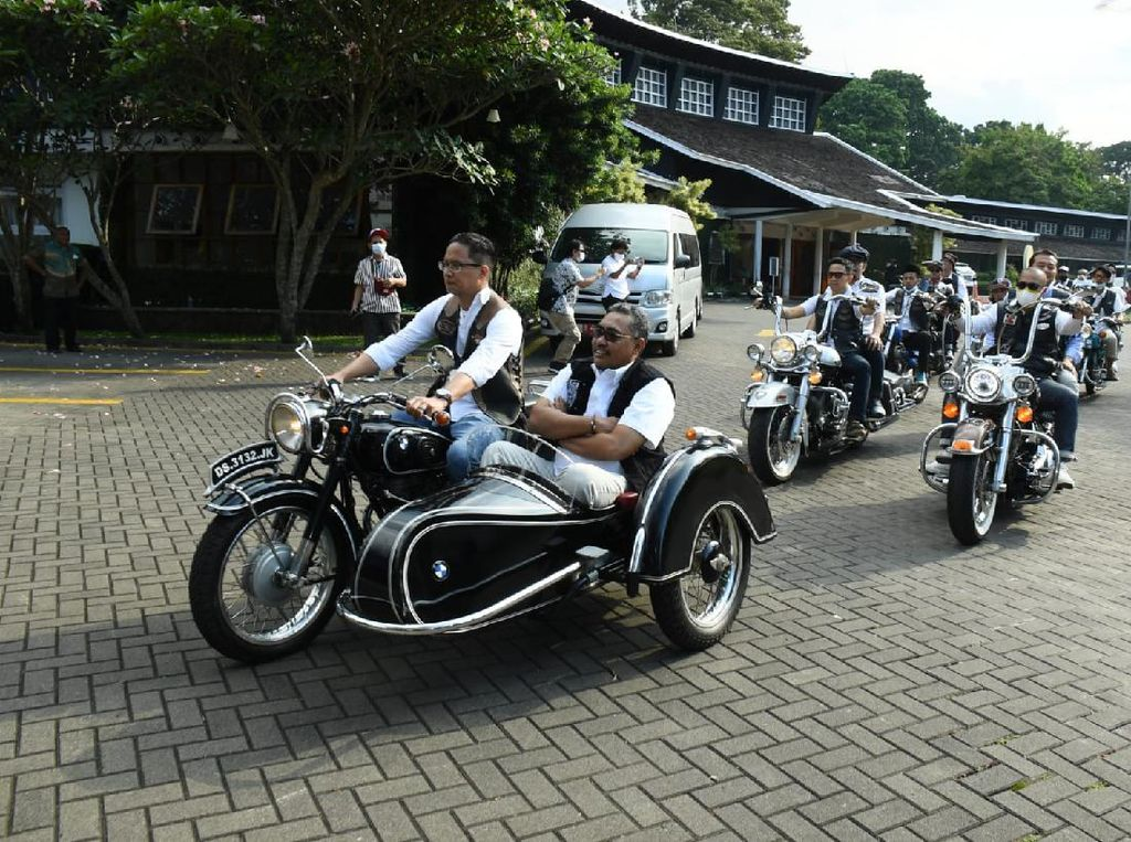 Jazilul Ajak Bikers Bandung Hidupkan Gotong Royong di Era Global