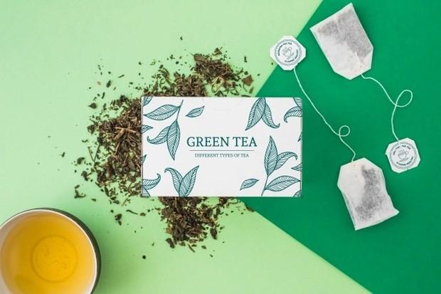 Kantong teh hijau/ Foto: Freepik.com