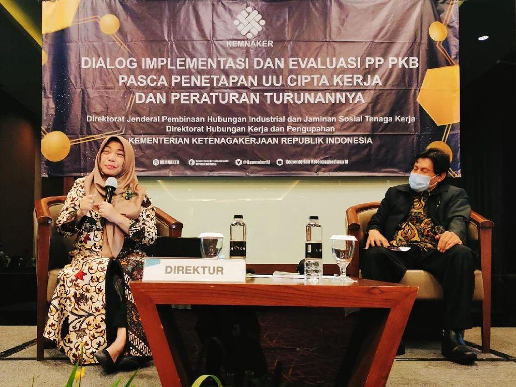 Kemnaker Bahas Hubungan Industrial Pascapenetapan UU Cipta Kerja