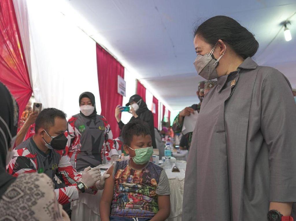 Momen Puan Pantau Vaksinasi di Tambora