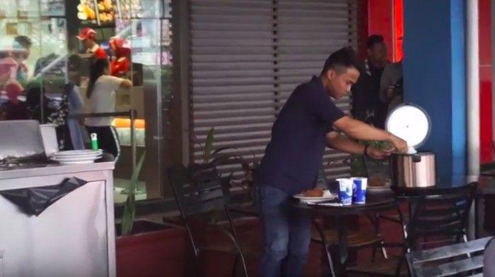 Pantang Malu! Orang-orang Ini Bawa Rice Cooker Isi Nasi Agar Hemat Makan di Restoran