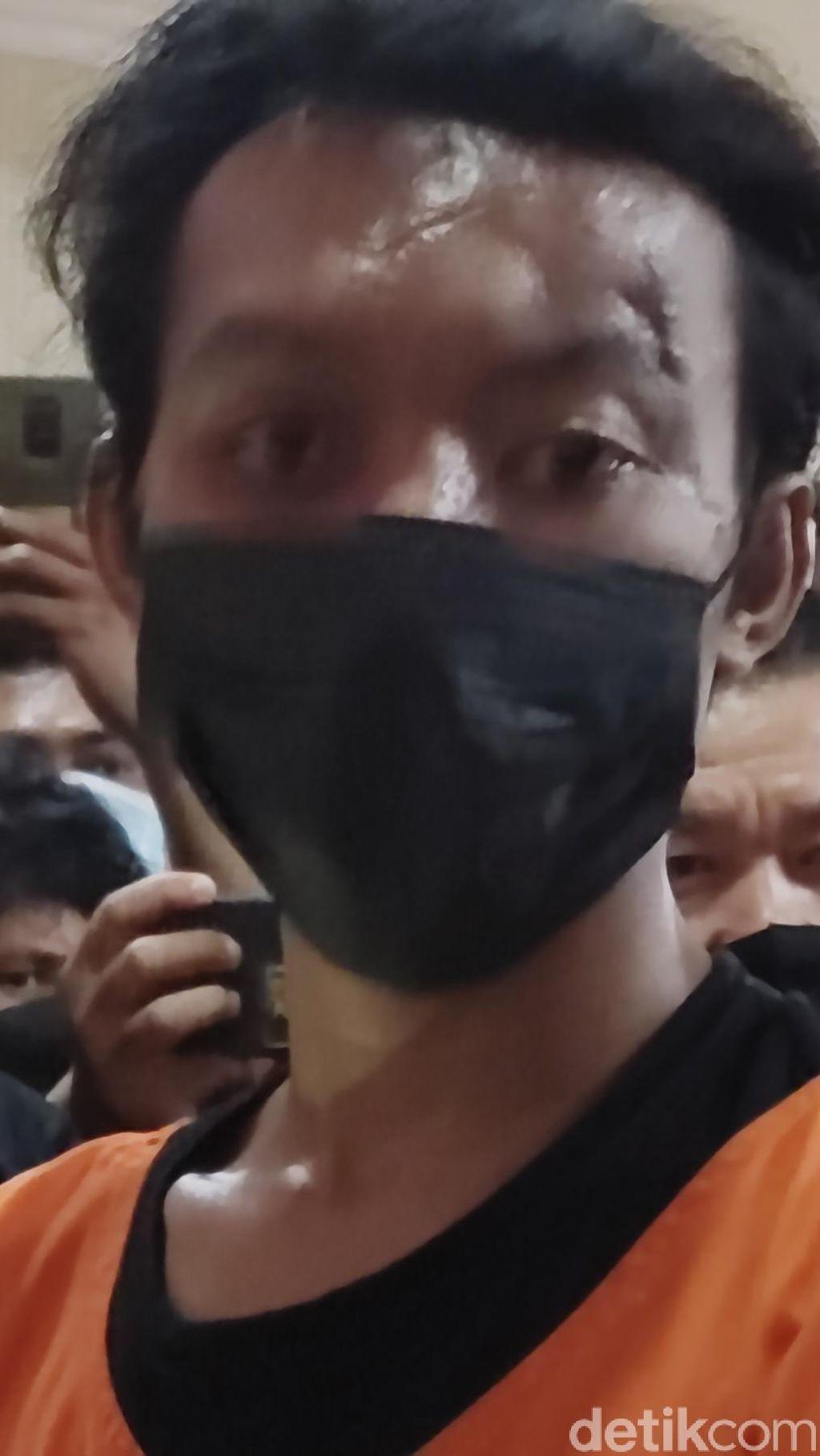 Pria Pembakar Mimbar Masjid Raya Makassar Positif Narkoba