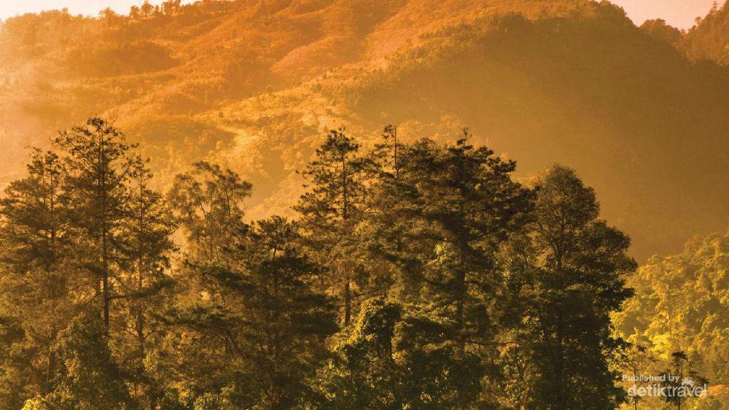 Begitu Magis dan Syahdu, Sunrise di Candi Cetho
