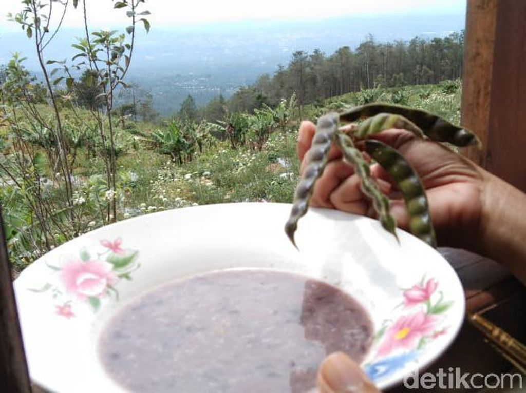 Sup Kacang Gude Spesial di Lereng Gunung Merbabu