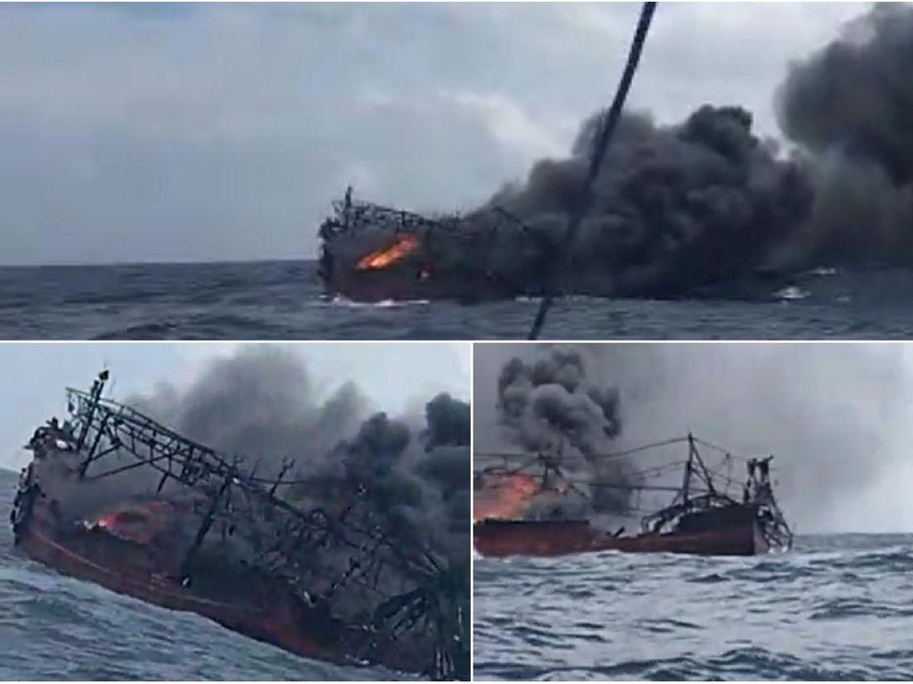 Cerita ABK Asal Sukabumi Selamat dari Kebakaran Kapal di Perairan Maluku