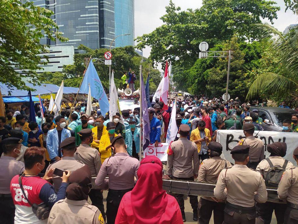 Polisi Cegah Aliansi BEM SI Demo ke Depan KPK: Beritanya Sudah Trending!