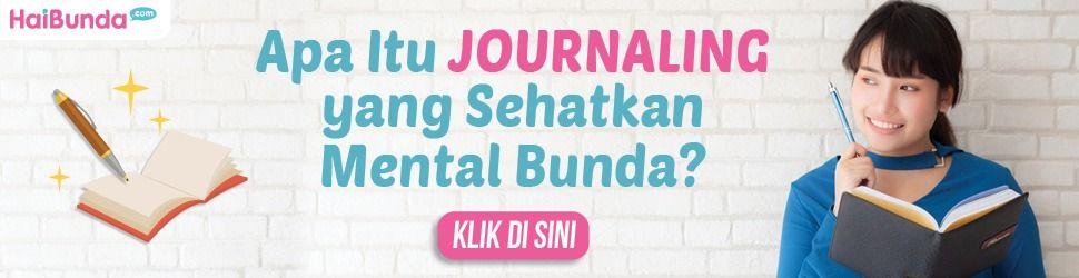 Banner Journaling Sehatkan Mental