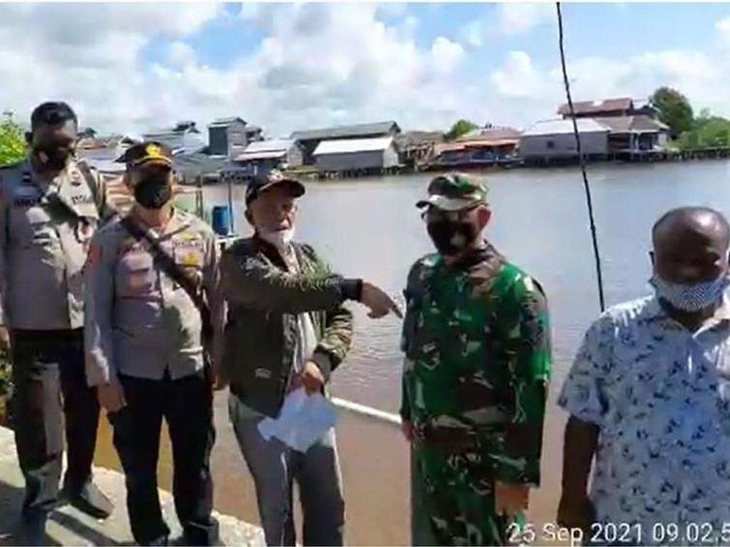 Pemkab OKI Ungkap Fakta di Balik Viral Bocah Seberangi Sungai Naik Styrofoam