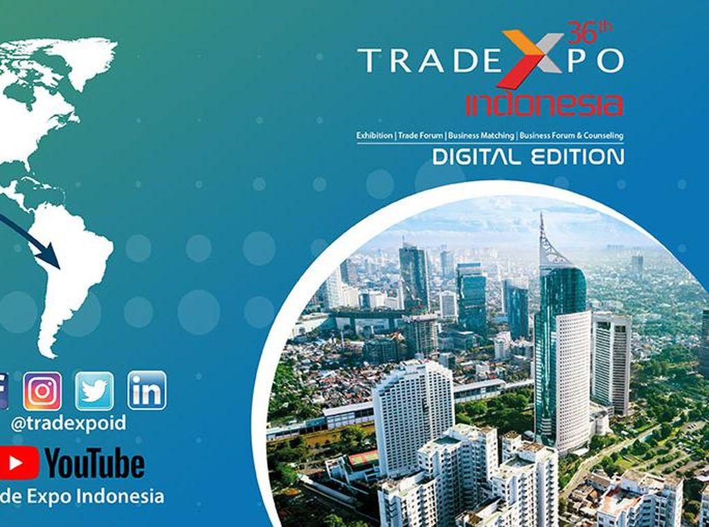Trade Expo Indonesia Digelar Virtual, Bidik Transaksi Rp 21 T