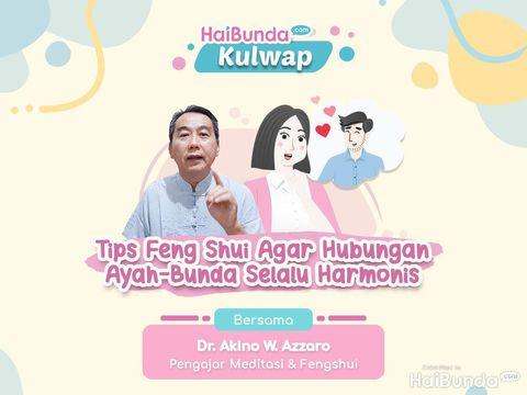 Kulwap HaiBunda bersama Dr. Akino W. Azzaro