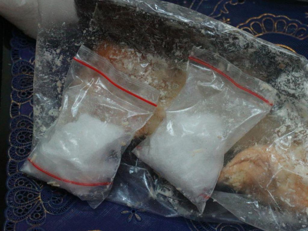 Serbuk Diduga Sabu Coba Diselundupkan ke Lapas Porong Sidoarjo Pakai Roti