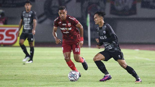 Persis Solo vs AHHA PSG Pati di Liga 2 2021 di Stadion Manahan, Solo, Minggu (26/9).