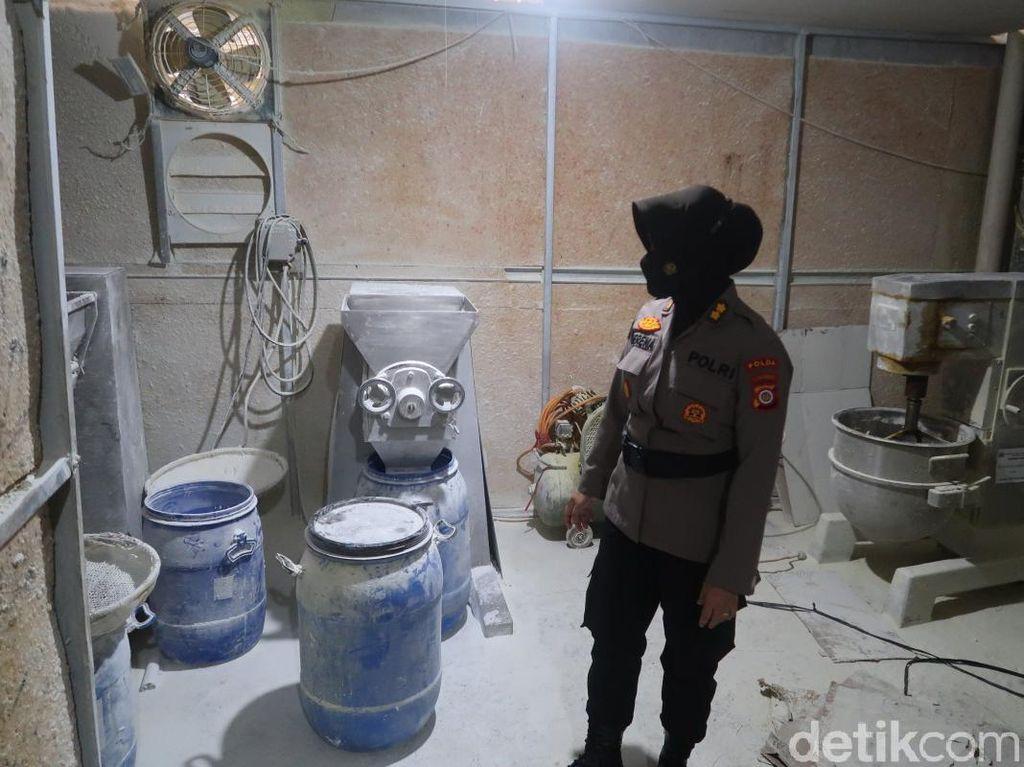 2 Pabrik Psikotropika di Yogya Dibongkar! Produksi Jutaan Butir per Hari