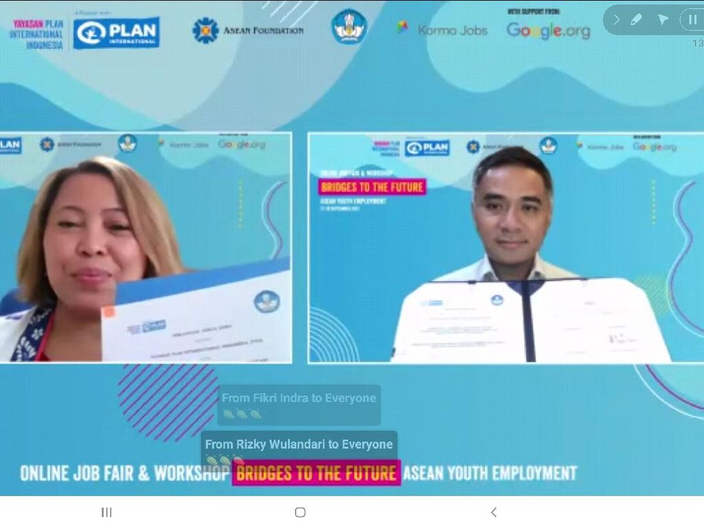 Buka Online Job Fair, Dirjen Vokasi Harap Jadi Peluang untuk Lulusan SMK Hingga PT