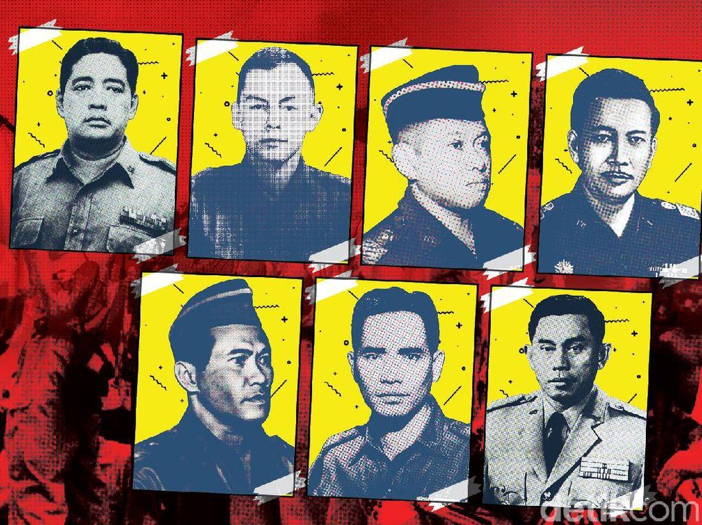 7 Pahlawan Revolusi Korban G30S/PKI, Ini Profil Lengkapnya