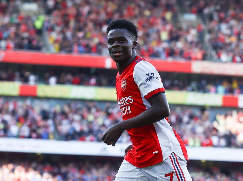 Sesumbar Bukayo Saka: Arsenal Bisa Raih Trofi Musim Ini