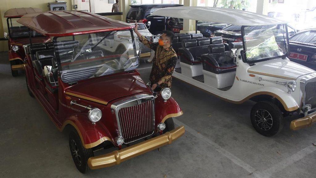 Cakep, Mobil Listrik Klasik Ini Siap Wara-wiri di Solo