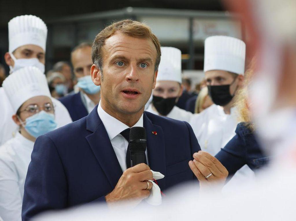 Nasib Presiden Prancis 3 Kali Diserang Warga Sendiri