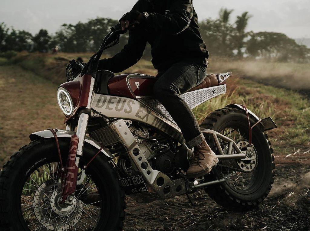 Modifikasi Yamaha XSR 155 Ala Tongkrongan Street Tracker