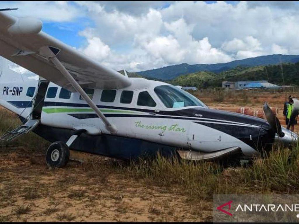Pesawat Pengangkut BBM HSD Kecelakaan di Kaltara