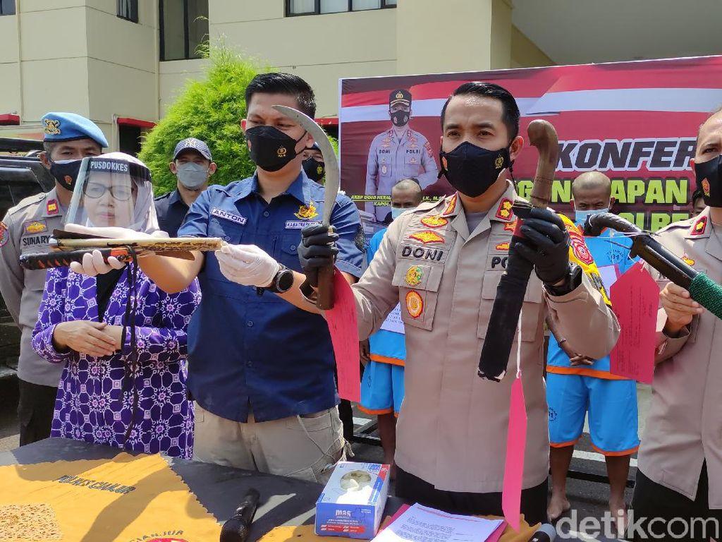 Tersangka Kasus Bentrok 2 Ormas di Perbatasan Cianjur-Sukabumi Jadi 5 Orang
