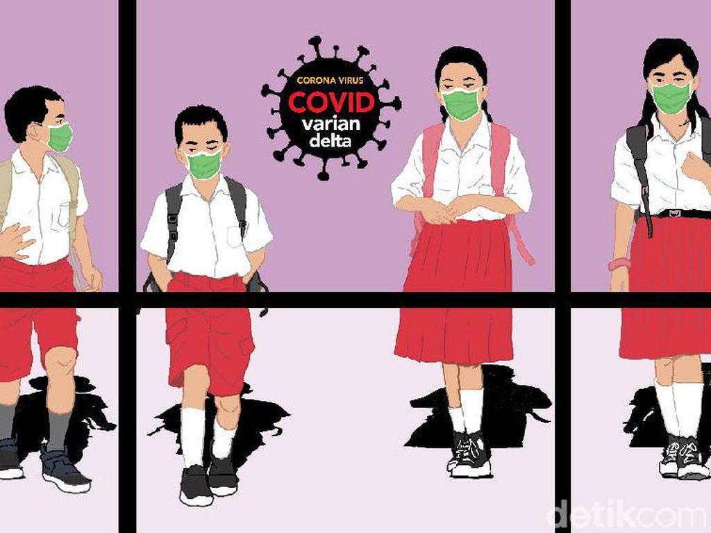 Rencana Terbaru Pemerintah soal PTM: Tes COVID Acak-Terapkan PeduliLindungi