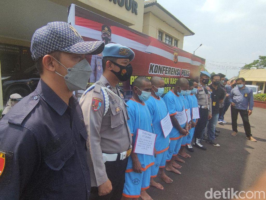 Tersangka Kasus Bentrok Maut Ormas di Cianjur Terancam 5 Tahun Bui