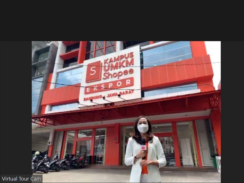 Shopee Punya Kampus UMKM di Bandung, Ini Fasilitasnya