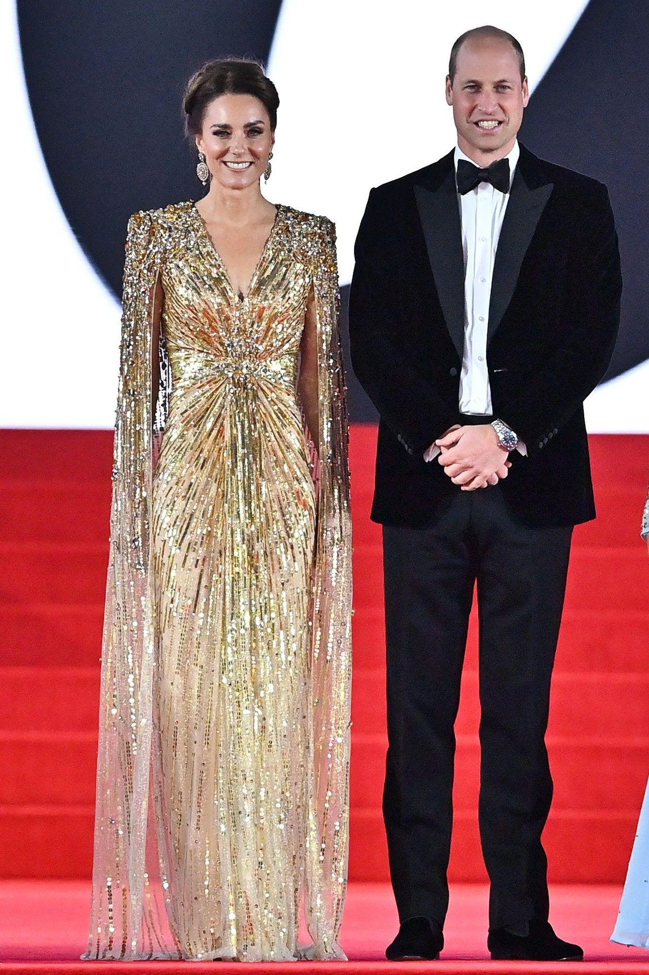 Kate Middleton dan Pangeran William di film No Time to Die