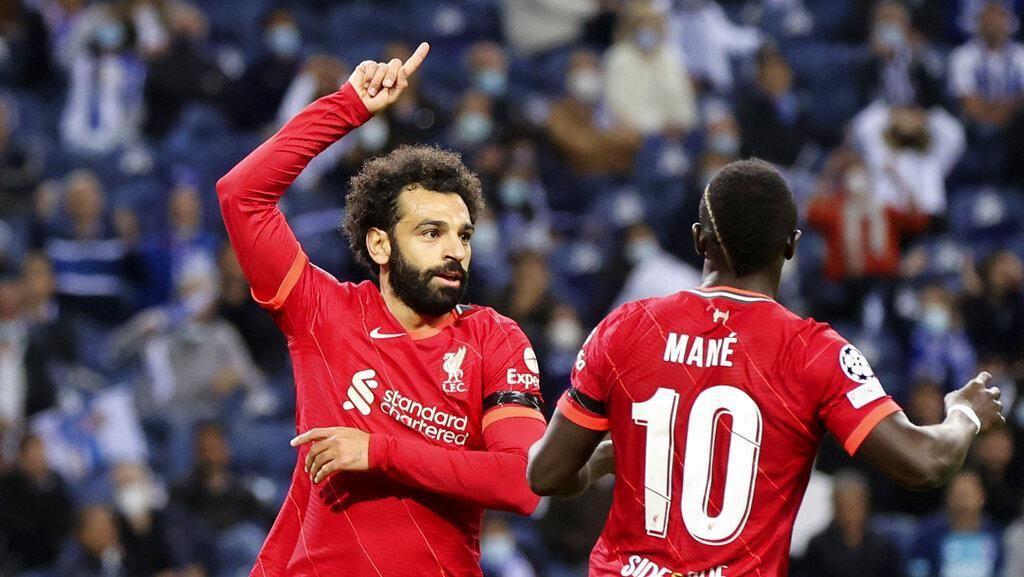 Liverpool Pulang dari Porto Bawa Oleh-oleh 5-1