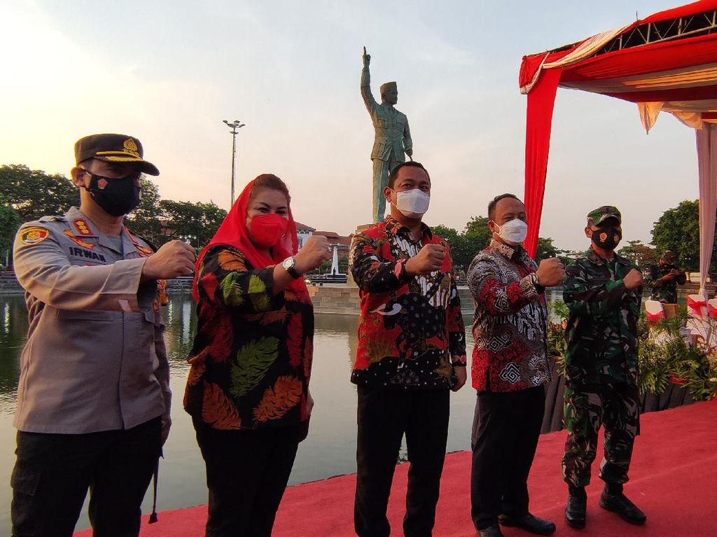 Patung Bung KarnoDiresmikan, Walkot Semarang: Ini sebagai Tetenger