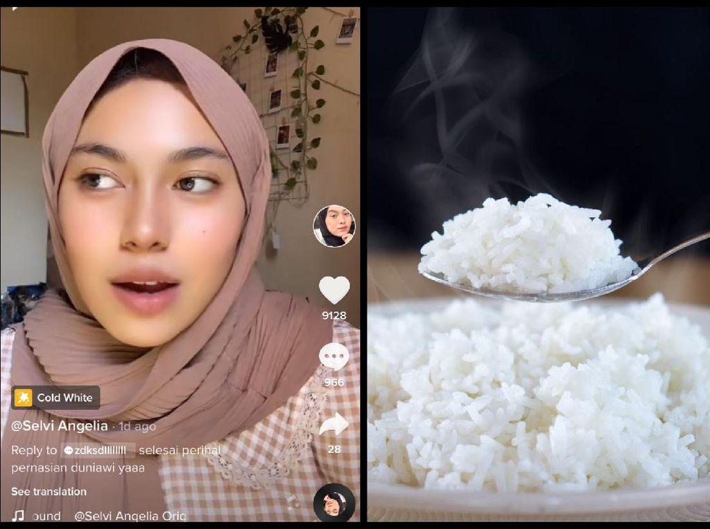 Tak Bisa Makan Nasi Sejak Kecil, Netizen Ini Bakal Muntah Saat Telan Nasi