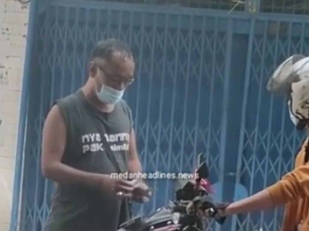 Polisi Datangi Lokasi Preman Viral Pungli Modus Parkir di Medan