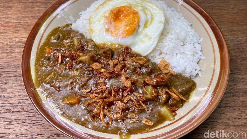 Kekenyangan Makan Nasi Siram Sei Sapi dan Nasi Kare Portugal