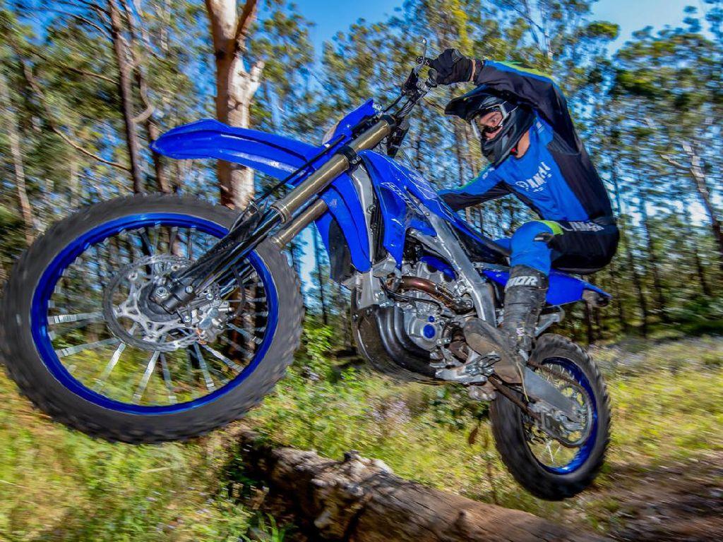 Yamaha WR250F, Motor Canggih buat Terabasan