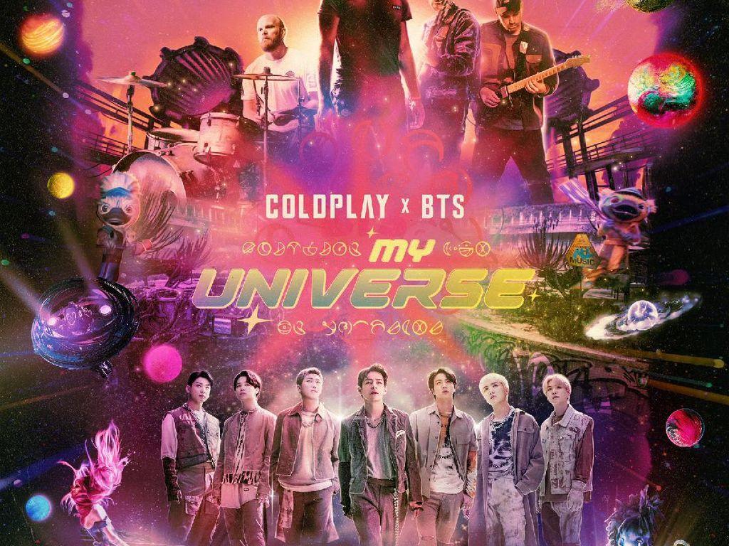 My Universe Debut di Puncak Billboard Hot 100, BTS Torehkan Rekor Baru