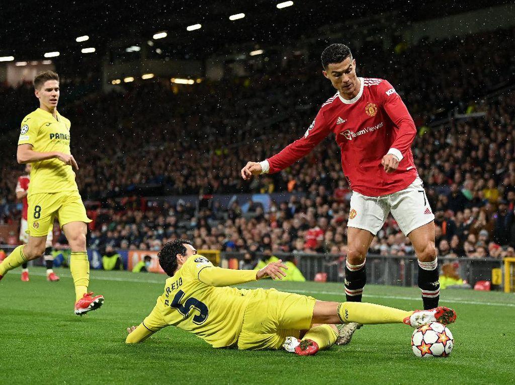 Man Utd Vs Villarreal: Ronaldo Menangkan Setan Merah 2-1