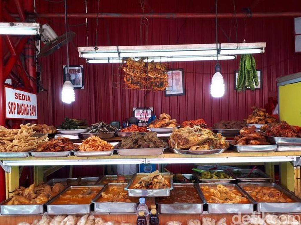Kramat Raya, Surga Nasi Kapau di Jakarta yang Ikonik