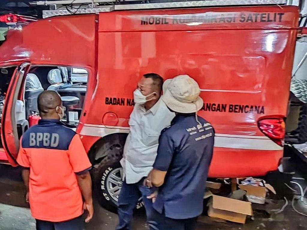 Mobil Teknologi Satelit Permudah Komunikasi Satgas Prokes di PON Papua