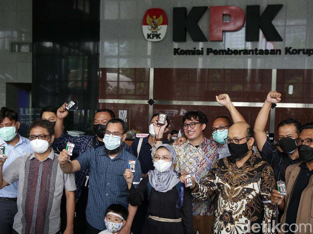 Eks Pegawai KPK Tak Lulus TWK Ajukan Banding Administratif ke Jokowi