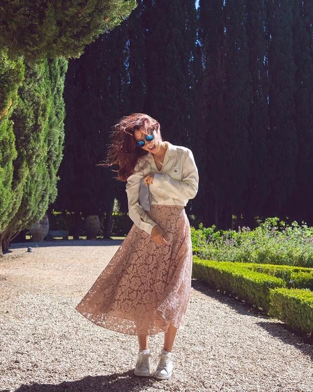 Style outfit lace ala Korea